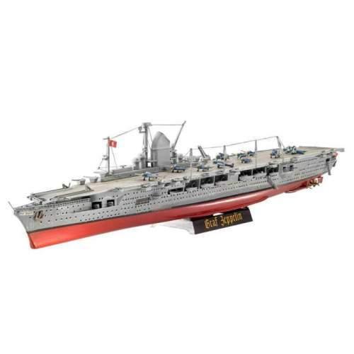Navomacheta Revell - German Aircraft Carrier GRAF ZEPPELIN