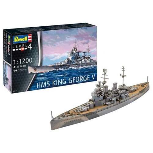 Navomacheta Revell - HMS King George V Modelmaking