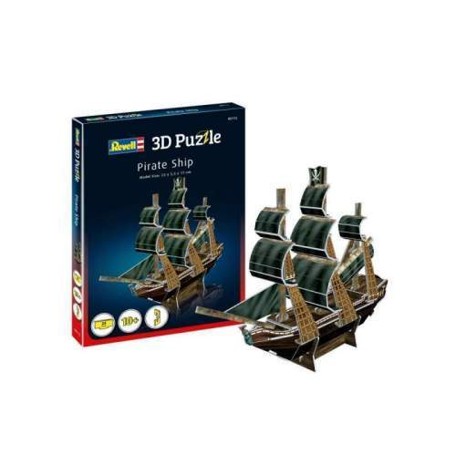 Puzzle 3D mini - Corabia Piratilor