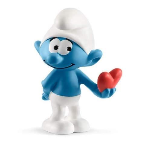 Figurina Schleich - Strumf cu inima SL20817