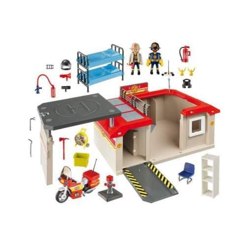 Set Playmobil City Action - Set Mobil Statie De Pompieri 5663
