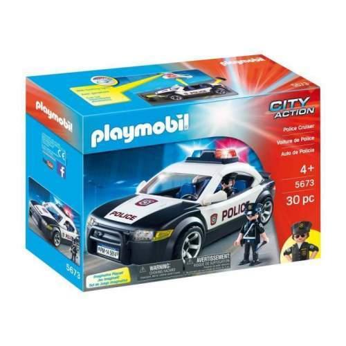 Set Playmobil City Action - Masina De Politie 5673