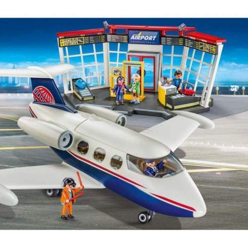 Set Playmobil City Action - Set Aeroport 70114