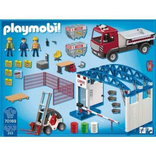 Set Playmobil City Action - Terminal De Incarcare Marfa 70169