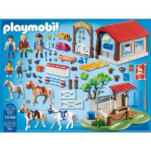 Set Playmobil Country - Ferma Poneilor 70166