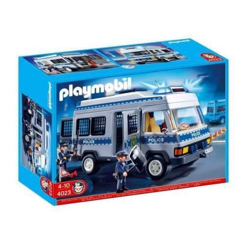 Set Playmobil Police - Camionul Politiei 4023