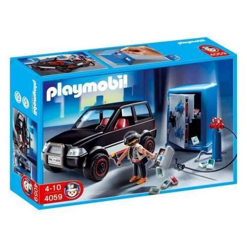 Set Playmobil Police - Hot Cu Seif Si Masina 4059