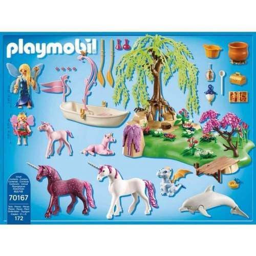 Set Playmobil Fairies - Insula Zanelor 70167
