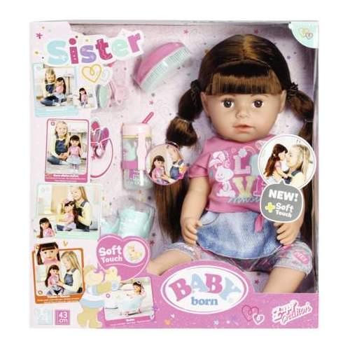 Baby Born-Surioara Interactiva Satena