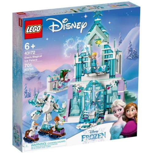 LEGO Elsa Si Palatul Ei Magic De Gheata - LEGO 43172 (Friends)