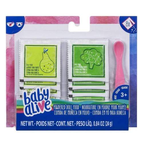 HASBRO Baby Alive Powdered Doll Food