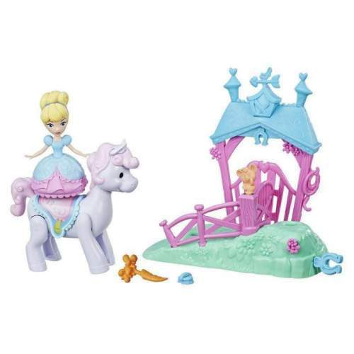 HASBRO DISNEY PRINCESS PONY RIDE STABIL