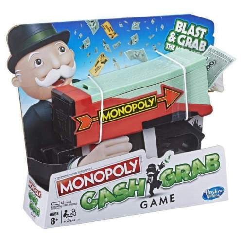 HASBRO Monopoly Cash Grab Game