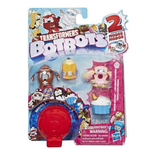 HASBRO Transformers BotBots Toys Series 1 Sugar Shocks 5-Pack -- Mystery 2-In-1 Figures