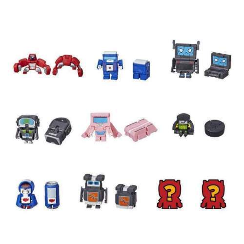 HASBRO Transformers BotBots Toys Series 1 Techie Team 5-Pack -- Mystery 2-In-1 Figures