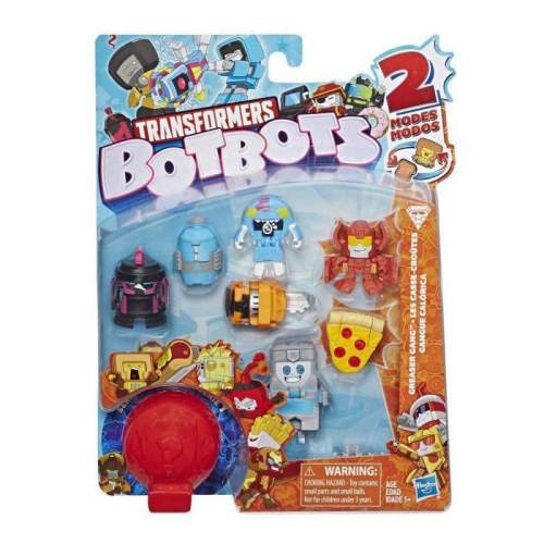 HASBRO Transformers Toys BotBots Series 1 Greaser Gang 8-Pack -- Mystery 2-In-1 Figures