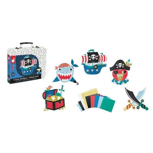 Set Creativ - Pirati in mozaic - J07761