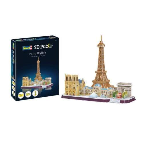 3D Puzzle Paris
