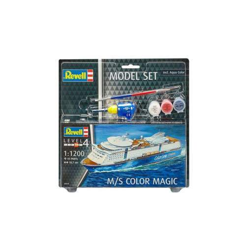 Model Set - Vaporul M/S Color Magic - RV65818