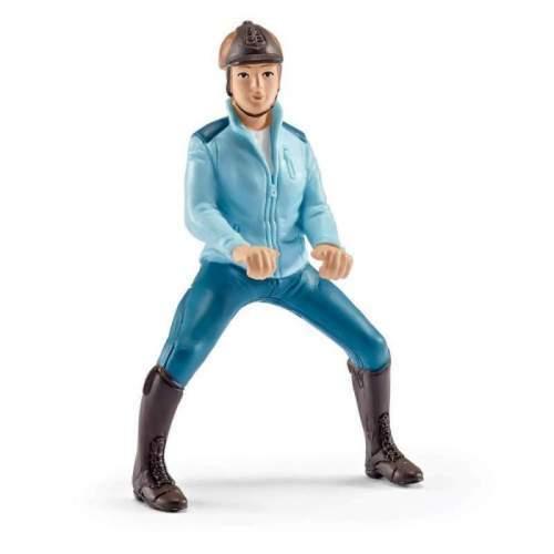 Set Figurine Schleich Calareata Cu Jacheta Turquaz - 42163