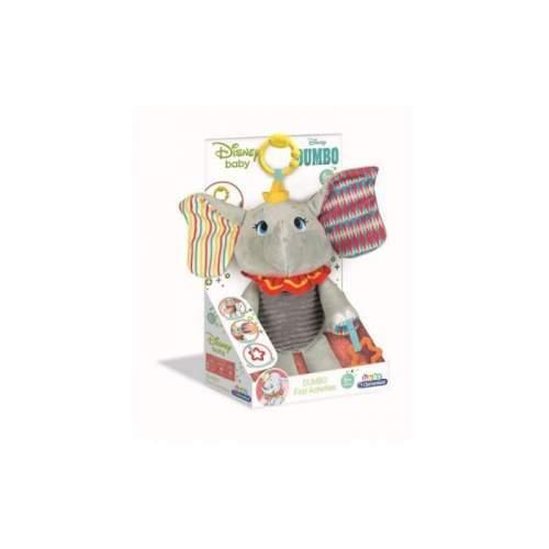 Jucarie Plus Elefantul Dumbo Cu Activitati