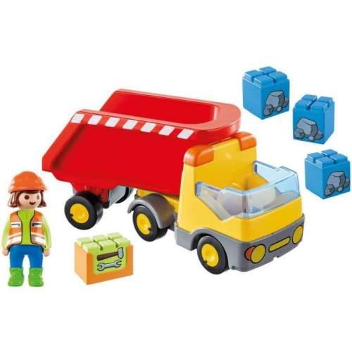 Set Playmobil 1.2.3 - Basculanta Rosie 70126