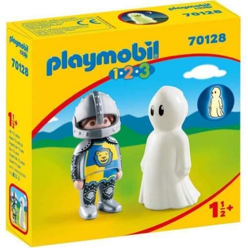 Set Playmobil 1.2.3 - Cavaler Cu Fantoma 70128