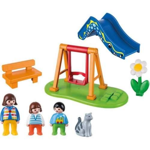 Set Playmobil 1.2.3 - Loc De Joaca 70130