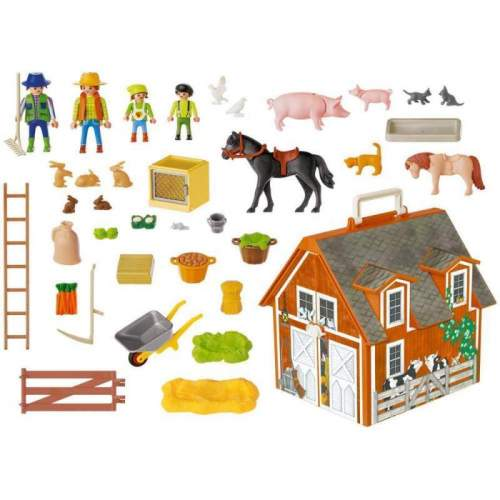 Set Playmobil Animals In The Forest - Set Mobil Ferma. 4142