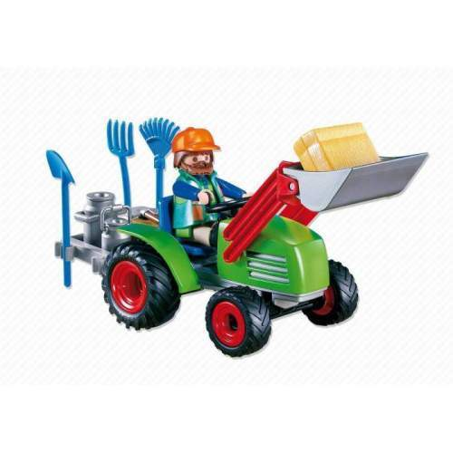 Set Playmobil Animals In The Forest - Tractorul Fermierului 4143