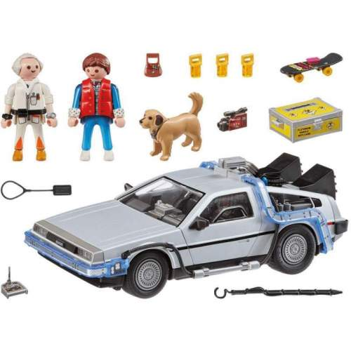 Set Playmobil Back To The Future - Inapoi In Viitor Delorean 70317