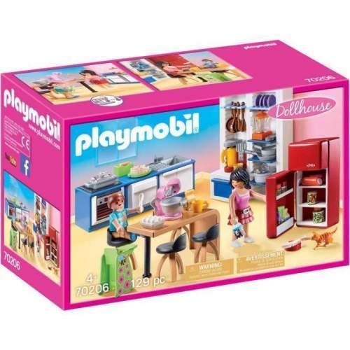 Set Playmobil Dollhouse - Bucataria Familiei 70206