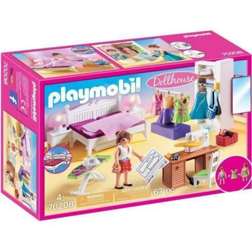 Set Playmobil Dollhouse - Dormitorul Familiei 70208
