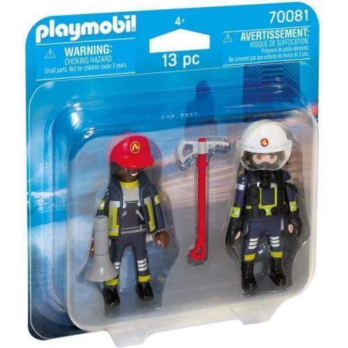 Set Playmobil Wild Life - Set 2 Figurine - Pompieri 70081