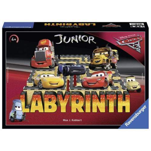 Joc Ravensburger - Labirint Junior - Cars (Ro)