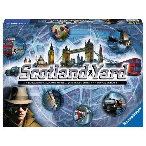Joc Ravensburger - Scotland Yard (Ro)