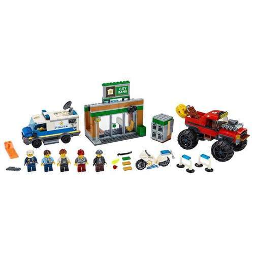 LEGO Furtul Cu Monster Truck (60245) - LEGO 60245 (City)