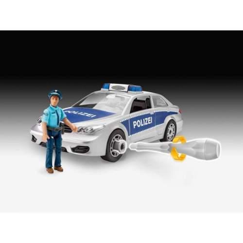 Revel - Junior Kit Police Car Incl. Figure