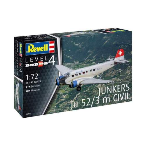 Revel - Junkers JU52/3M Civil