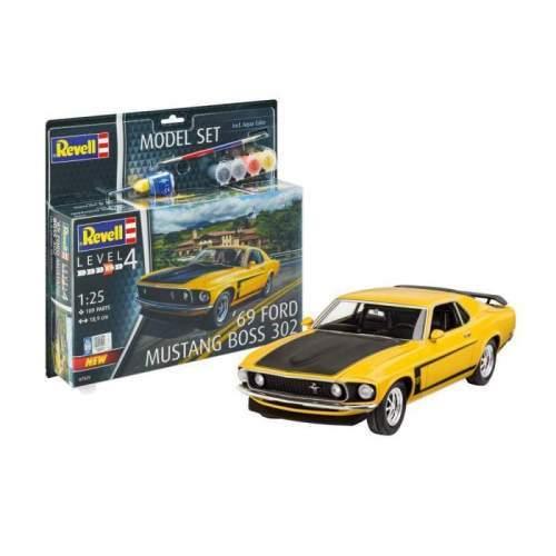 Revel - Model Set 1969 Boss 302 Mustang
