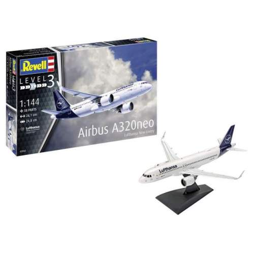 "Revel - Model Set Airbus A320 Neo ""Lufthansa"""