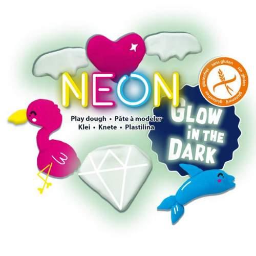 Ses Plastilina Neon Si Fosforescenta
