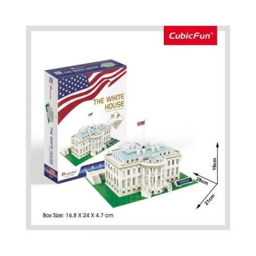 Puzzle 3D Casa Alba (Nivel Mediu 56 Piese)