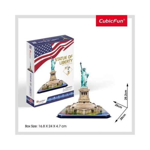 Puzzle 3D Statuia Libertatii (Nivel Mediu 39 Piese)