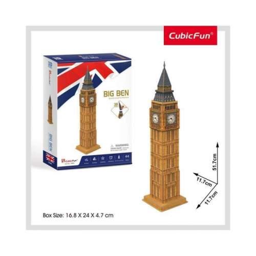 Puzzle 3D Big Ben (Nivel Mediu 44 Piese)
