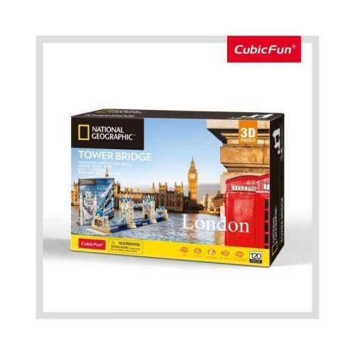 Puzzle 3D+Brosura-Tower Bridge 120 Piese