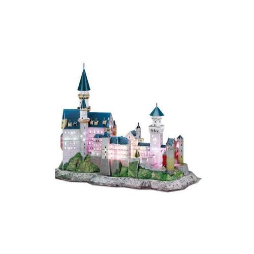 Puzzle 3D Led Castelul Neuschwanstein 128 Piese