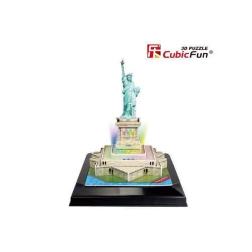 Puzzle 3D Led Statuia Libertatii 37 Piese