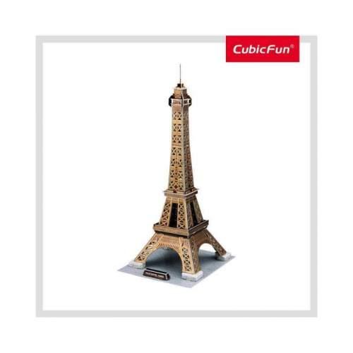 Puzzle 3D Turnul Eiffel (Nivel Mediu 43 Piese)
