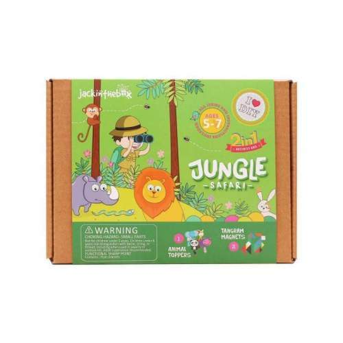 Kit Creatie 2-In-1 Safari In Jungla